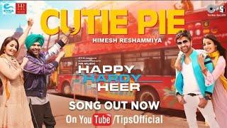 Cutie Pie Teaser 2 Happy Hardy And Heer WhatsApp Status Song