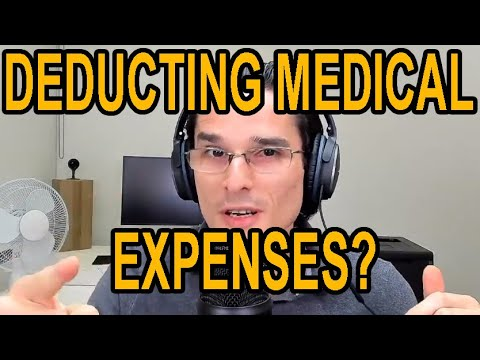 How Do You Deduct Medical Expenses For Tax Purposes?