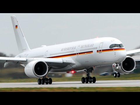 """German """"Air Force One""""   First Airbus A350 Deutsche Luftwaffe"""