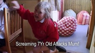 7Yr Old Girl Attacks Mum Over Breakfast! | Supernanny UK