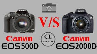 Canon EOS 500D VS Canon EOS 20…