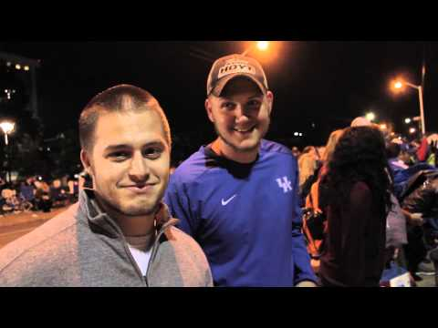 Big Blue Madness Ticket Campout 2014