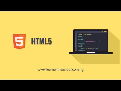 HTML 5 Basic Examples