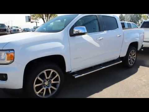 2019 Gmc Canyon Denali In Summit White For Sale In Medicine Hat