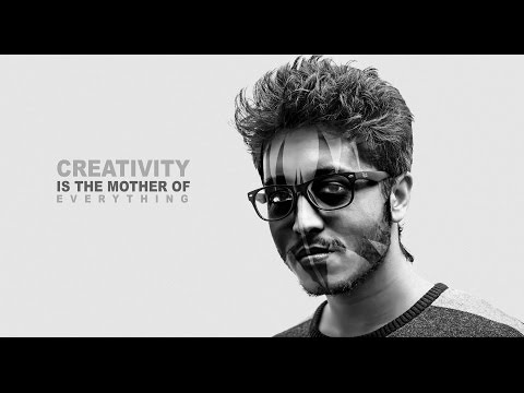 Create face mask on Your face Photoshop CC | Photo Manipulation Tutorial