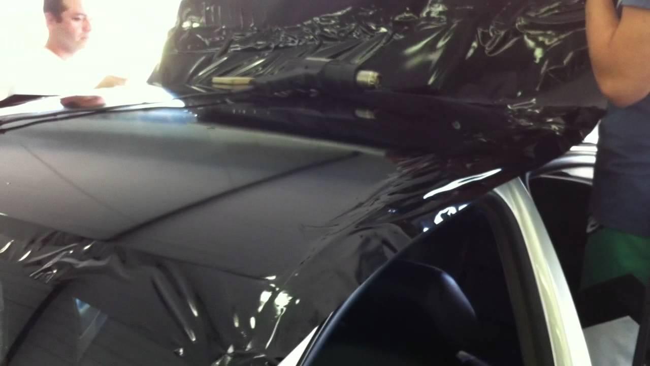 Adesivando Teto Autom 243 Vel Black Piano Youtube