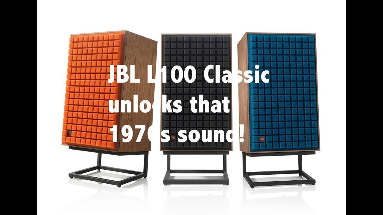 Listening Test: JBL L100 Classic speakers