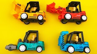 Toy Cars for Kids Excavator Road Roller Dump Truck Construction Vehicles Toys for Children