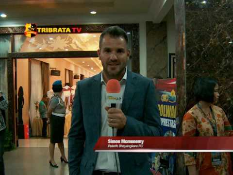 Greeting Tribrata TV Simon Mcmenemy Pelatih Bhayangkara FC