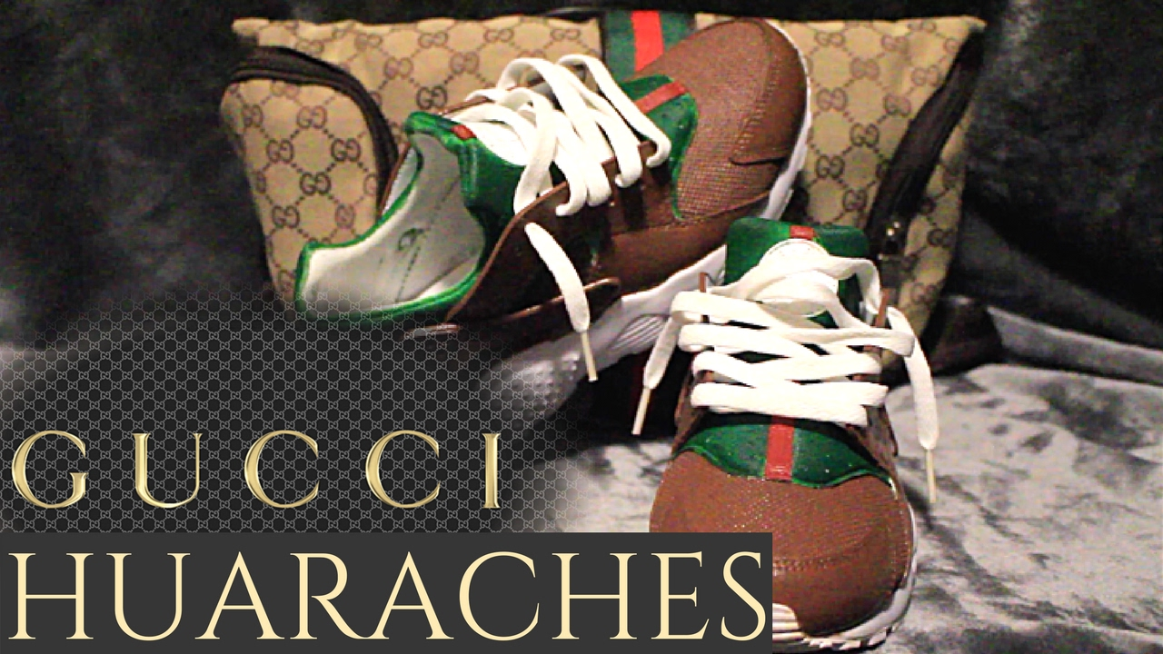 094ab1c1cfe Gucci Huaraches Custom