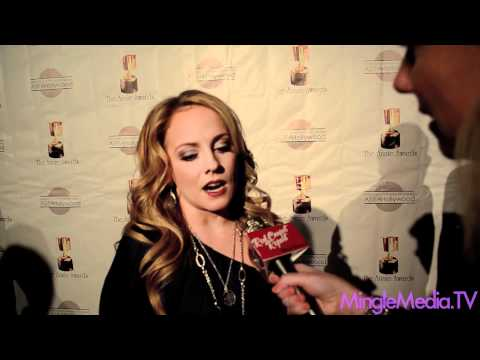 Kelly Stables at the 39th Annual Annie Awards Red Carpet