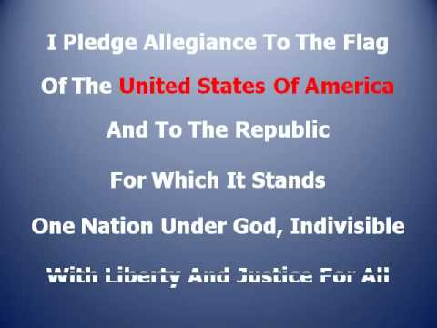 I Pledge Allegiance To The Flag by Robert Casale