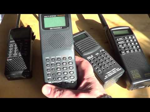 Getting started in the Radio Scanner hobby different types of radios available