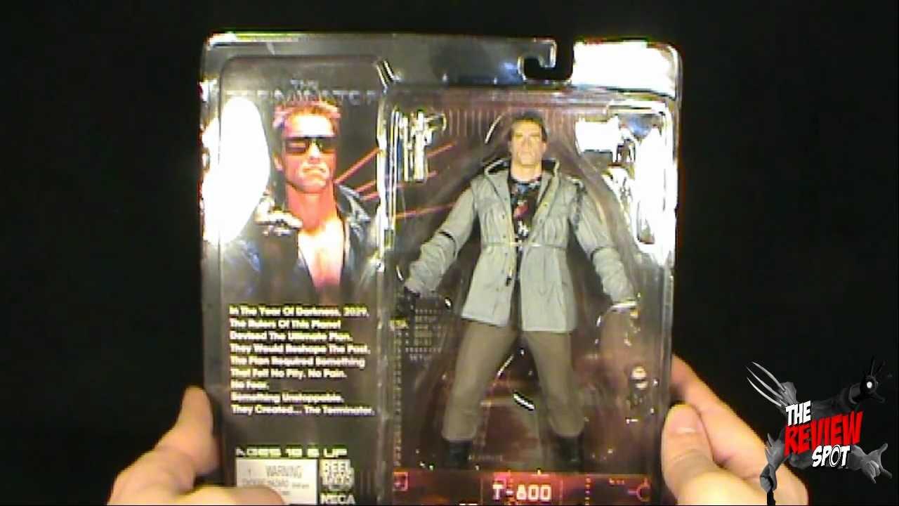 Toy Spot - NECA Terminator Tech Noir T-800 Figure - YouTube