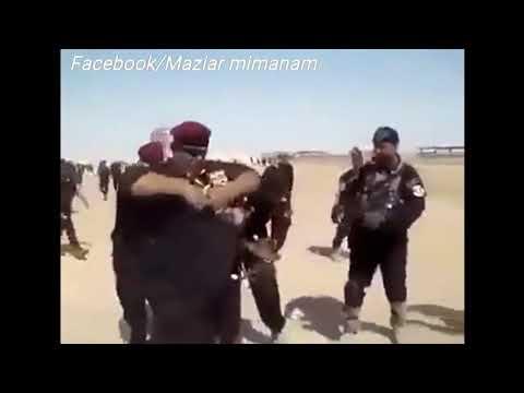 خوردن حیوانات زنده توسط سربازان و افسران ارتش عراق/Dangerous wildlife