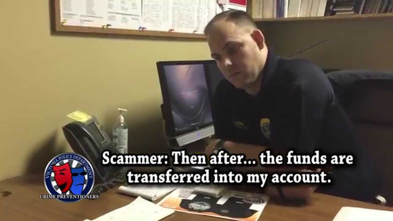 The Cop & The Scammer - REAL Phone Conversation!
