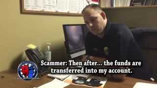 The Cop & The Scammer  REAL Phone Conversation!