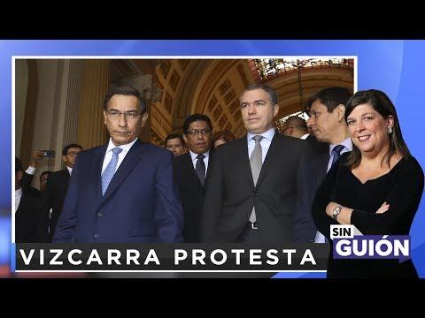 Vizcarra protesta - Sin Guion con Rosa María Palacios