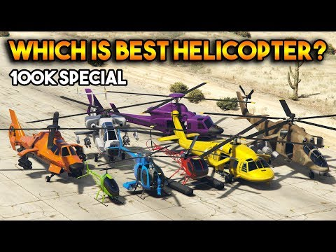 GTA 5 ONLINE : WHICH IS BEST HELICOPTER? ( AFTER SA SUPER SPORT SERIES UPDATE ) [100k Special]