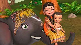 Enugamma Enugu | Telugu Rhymes for Children | Infobells