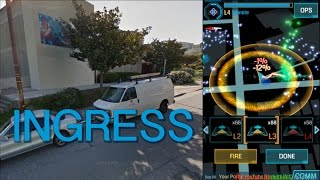 Ingress Gameplay - Potrero Hill, San Francisco