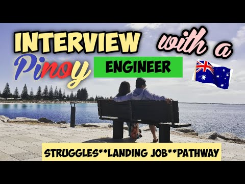 Interview with a Pinoy Engineer in Australia   Pathway to Engineering   Steps  Struggles   Success