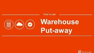How to Use Warehouse Putaways