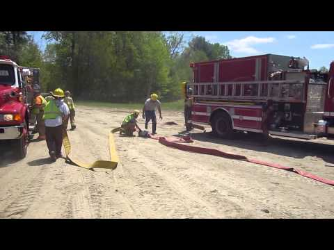 Part 1 - Rural Water Supply Drill - Wentworth, New Hampshire - May 2015