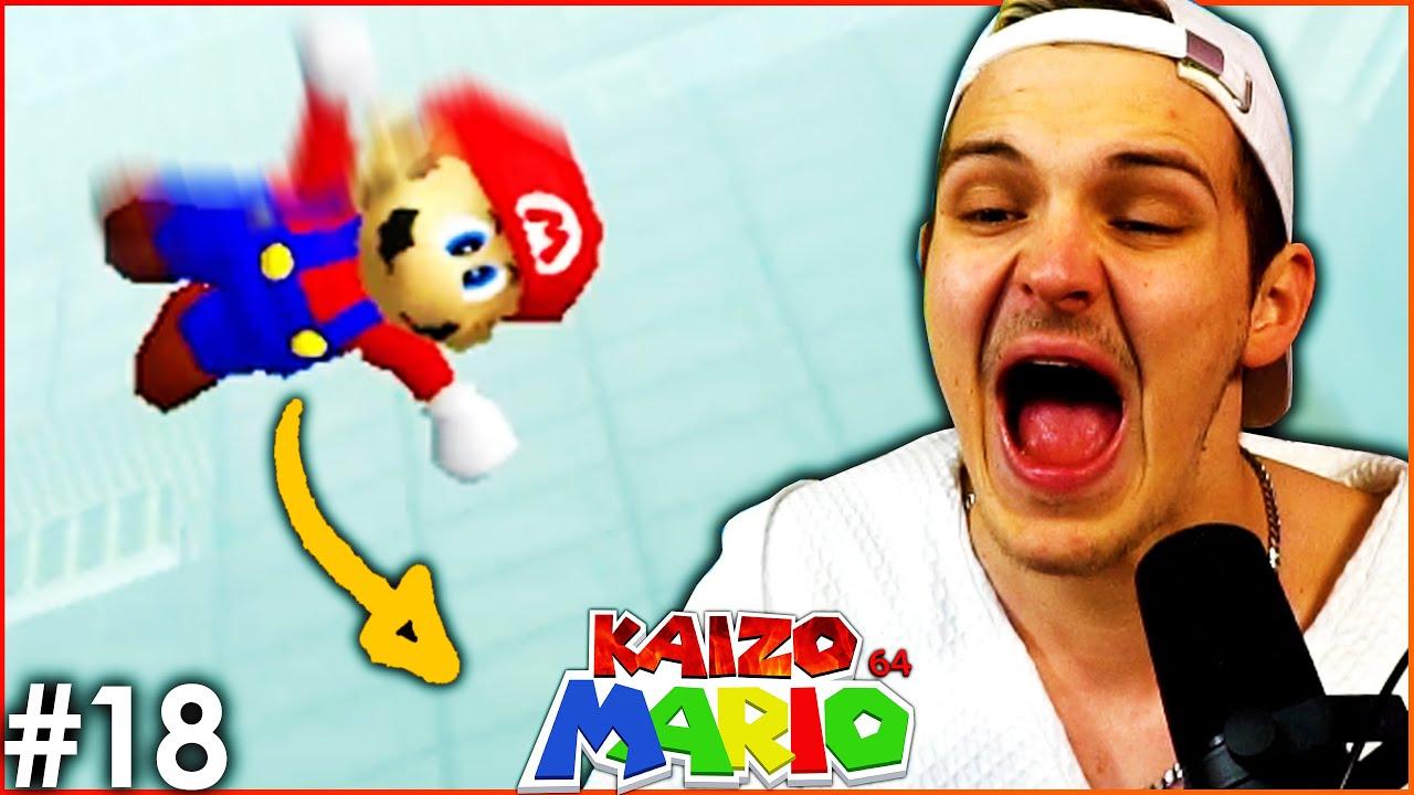 Freier Fall in den Rage 🔥 Kaizo Mario 64 #18