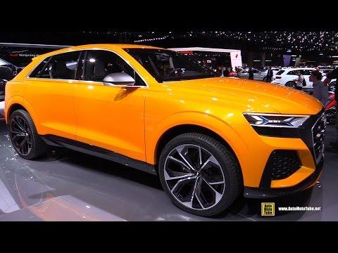 Audi Q8 Sport Concept - Walkaround - 2017 Geneva Motor Show