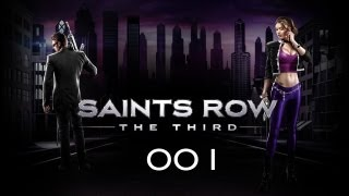 Let´s Play Saints Row: The Third #1 Bankraub mal anders [Blind/HD/Deutsch]