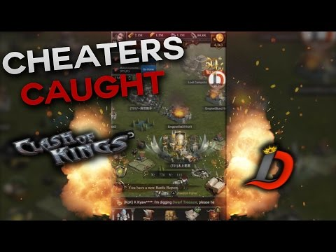 CHEATERS CAUGHT RED HANDED - BAN THEM ALL (CLASH OF KINGS)