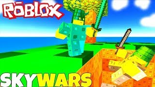 Playing skywars roblox-Gampley pc BYpulgaxX