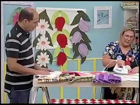 Ateliê na TV - Márcia Caires - Caminho de Mesa