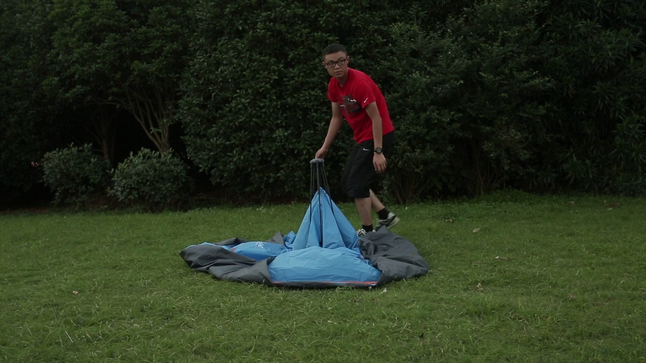 REDCAMP 2 3 Person instant tents for c&ing using guides & REDCAMP 2 3 Person instant tents for camping using guides - YouTube