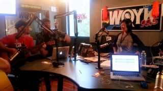 LoCash Cowboys LIVE on Air at WQYK 99.5 for Bourbon & Brew Fest Promo - Big City Events