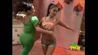 Sugey Abrego leggins verdes culo tetas enormes | hot mexican presenter