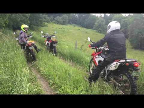 Dual Sport Motorcycle Trip - Honda CRF250L - Vermont 2017
