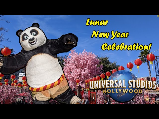 Becoming Dragon Warriors for Lunar New Year 2020 at Universal Studios Hollywood!