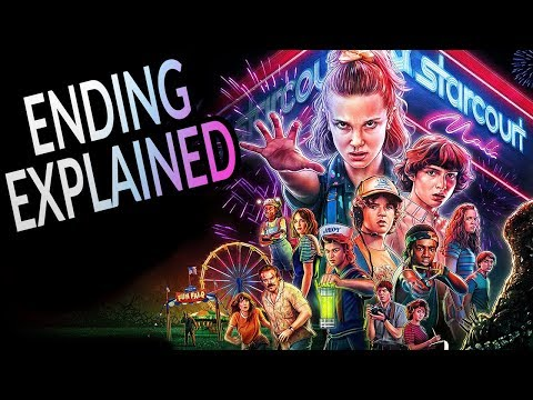 STRANGER THINGS Season 3 Ending Explained! Season 4 Theories and Post Credit Analysis!