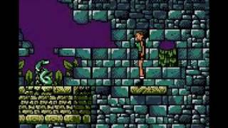 Tomb Raider (GBC) First Level Part 1