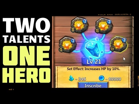 Castle Clash: TWO Talents On ONE Hero! - Update #1