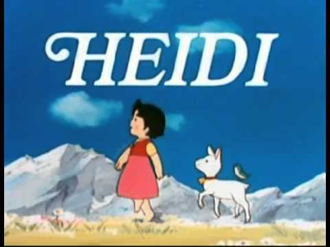 Canción de introducción de la serie animada Heidi