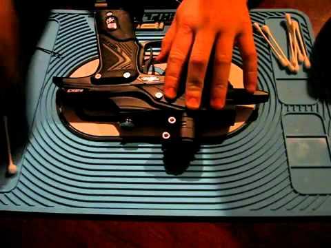 cleaning the break beam sensor system in your etek 3