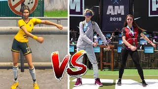 Fornite Dances at $3M PRO AM ft. Pokimane, Valkyrae, Muselk & BACKPACK KID