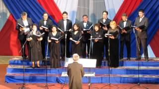 """Clean before my Lord"" Coro de Cámara Teatro Municipal de Iquique."