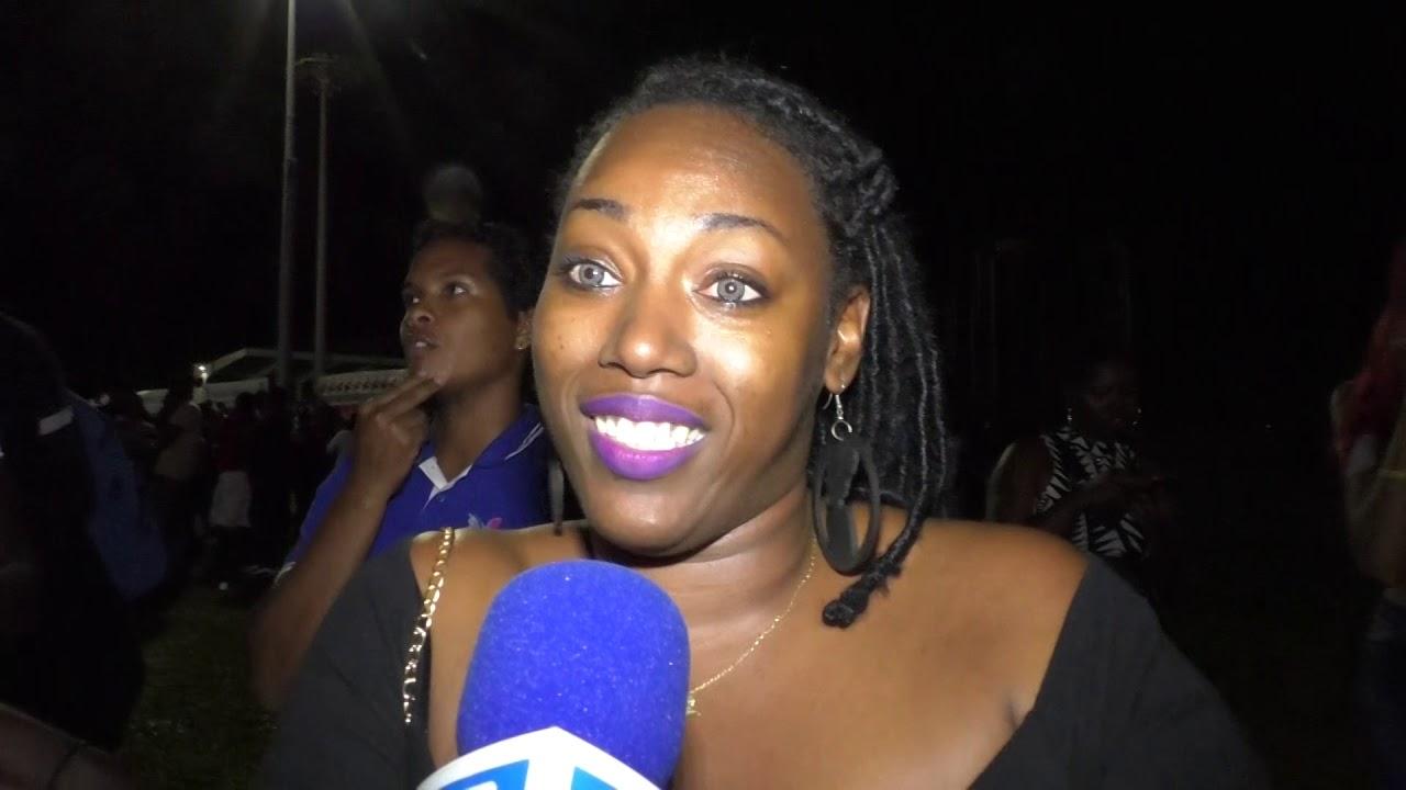 Les chanteurs caribéens ont fait bouger le stade de Baie-Mahault !