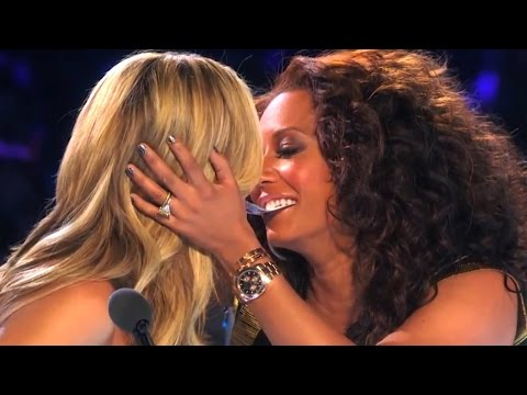 America's Got Talent Finals YOUNG MAGICIAN GETS HEIDI & MEL B TO KISS  Collins Key