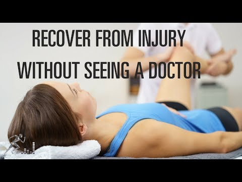 How to recover from an injury without seeing a doctor - 동영상