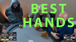 Poker Time: All the BEST HANDS from Bluffs, Blunders, and big folds